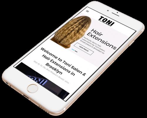 Toni Hair Extensions portfolio 2