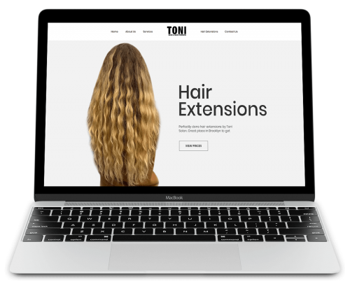 Toni Hair Extensions portfolio 4