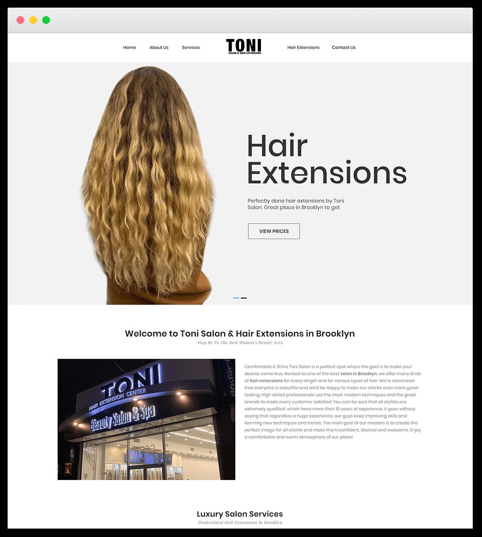 Toni Hair Extensions portfolio 6